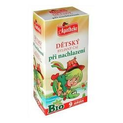 BIO Dětský čaj na nachlazení 20x1,5g Apoth.