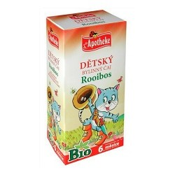 BIO Dětský čaj Rooibos 20x1,5g Apoth.