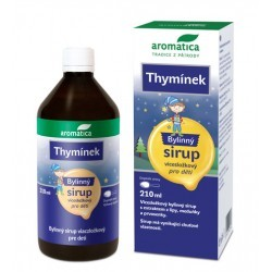 Thymínek sirup bylinný 210ml Aromatica