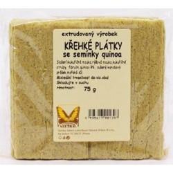 Plátky křehké s quinoou 75g