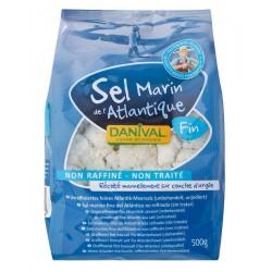 Sůl mořská jemná nerafinovaná 500g DANIVAL