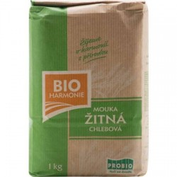 BIO mouka žitná chlebová 1kg Bioharmonie
