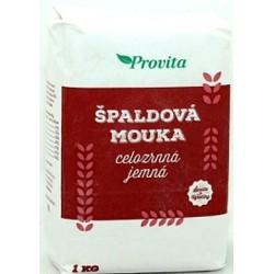 Mouka špaldová celozrnná 1kg Provita