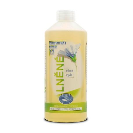 Lněné tekuté mýdlo 0,5l