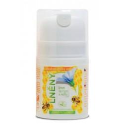 Včelí lněný krém na ruce a nehty 50ml