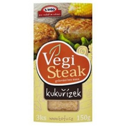 Vegisteak Kukuřízek 150g VETO