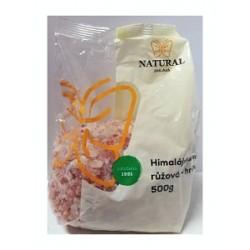 Sůl Himalájská růžová-hrubá 500g NJ