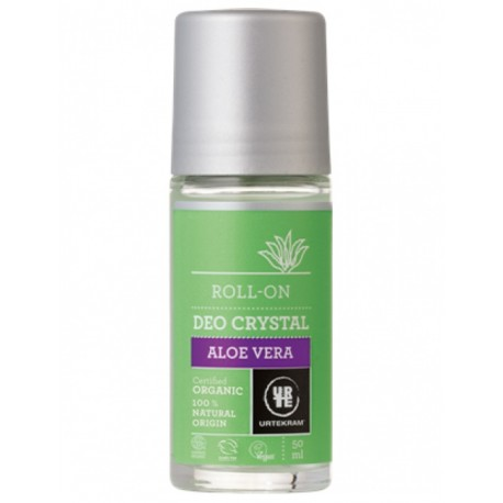BIO Deodorant roll on Aloe vera 50ml Urtekram