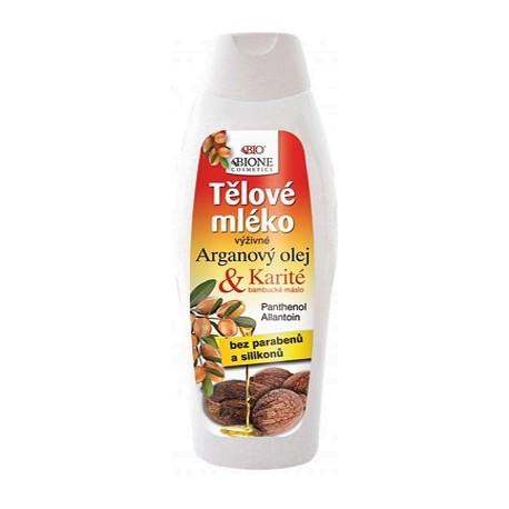 BIONE Tělové mléko ARGAN 260ml