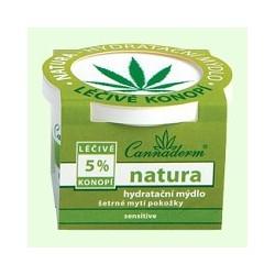 Natura-hydratační mýdlo 100g Cannaderm