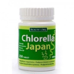 Chlorella Japan 200mg 250tbl. HL