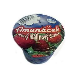 Rýžový dezert malina 125g Amunáček