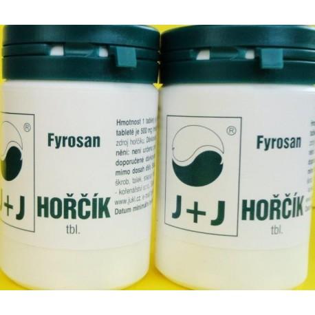 Fyrosan Hořčík tablety 50ks Jukl