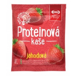 Kaše ovesná proteinová jahoda 65g