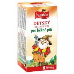 Dětský čaj bylinný 20x1,5g Apoth.