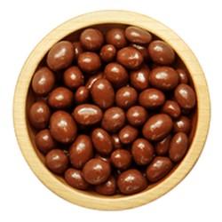 Arašídy v polevě z mléčné čokolády -volně