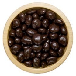 Brusinky v hořké čokoládě - volně