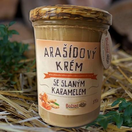 Arašídový krém se slaným karamelem 390g