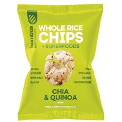 Bombus Rice chips chia+quinoa 60g