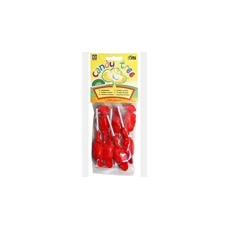 BIO Lízátka-jahoda 7x10g CandyTree
