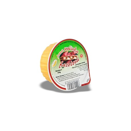 Svačinka fazolová 120g plech